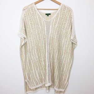 C Wonder poncho sweater gorgeous! Size XL / 1X